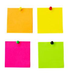 multicolored notes