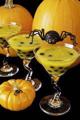 Halloween Bubble Tea with Spider