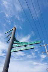 World direct sign