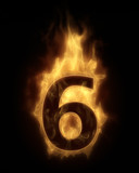 Burning number SIX in hot fire