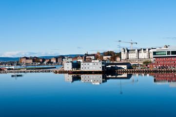 Harbor in Oslo