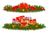 Christmas banners. Vector.