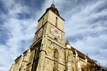 The Black Church, cathedral from Braşov city