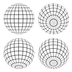 vector globes