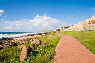 beach pedestrian path