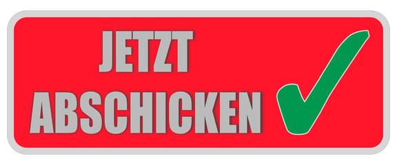 CB-Sticker rot eckig oc JETZT ABSCHICKEN