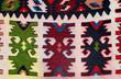 Hand woven kilim pattern
