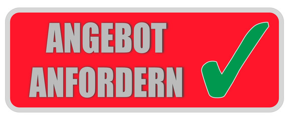 CB-Sticker rot eckig oc ANGEBOT ANFORDERN