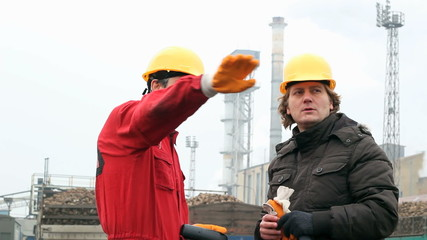 Two Industrial Workers