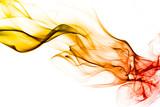 Fond texture abstrait flamme fumée - 37387915