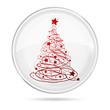 Palla con Albero Natale
