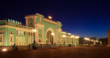 railway station at Novosibirsk