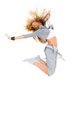 Tänzerin mit Hosenträger