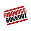 stempel eckig diagnose: burnout I