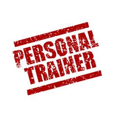 stempel eckig personal trainer I