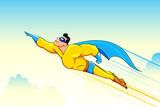 Flying Superhero