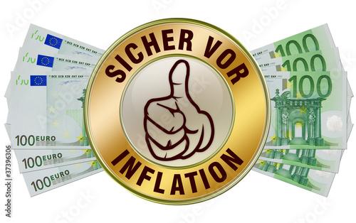 sicher vor inflation inflationsgeschützt