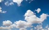 Blue sky with cloud background