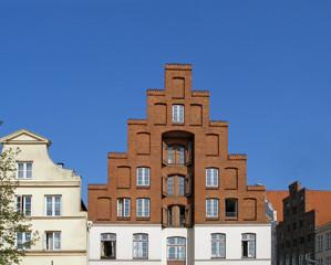 altes Speicherhaus in Lübeck
