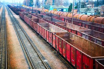 railway containers