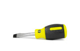 Isolated Screw Driver Over White