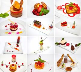 mosaique de desserts