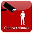 Button rot - Überwachung