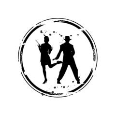 timbre danse rétro