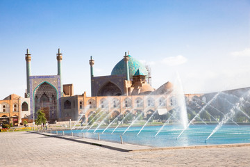 Naqsh-i Jahan Square on, Esfahan, Iran