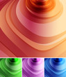 abstract soft colors background set