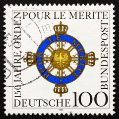 Postage stamp Germany 1992 Order of Merit