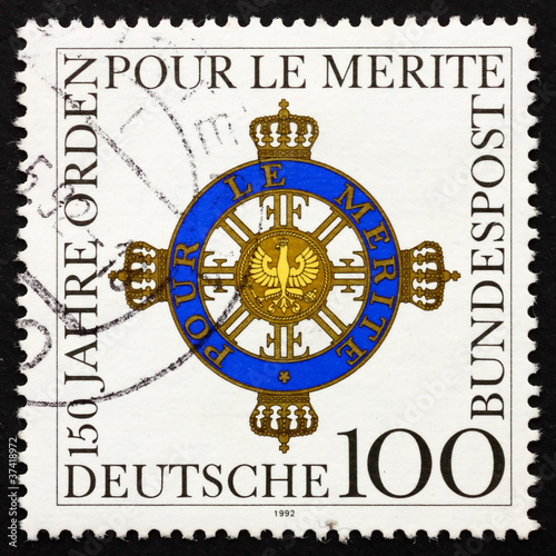 Postage stamp Germany 1992 Order of Merit