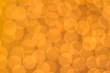 Glowing Orange Lights as Background