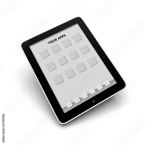 Tablet Computer Template