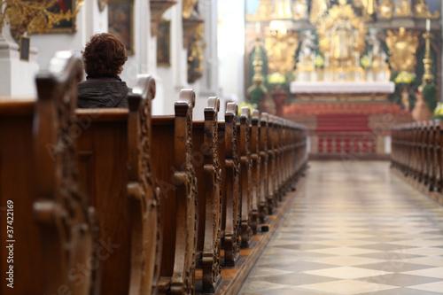 Foto op Plexiglas Bedehuis church