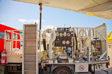 Tankfahrzeug zur Flugzeugbetankung