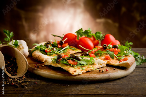 Pizza Vegetariana - 37424511