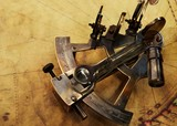 Sextant on an old map - Fine Art prints