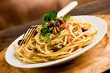 Fototapety Pasta con le Olive