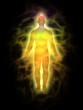 Man - energy body - aura