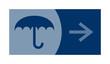signe, symbole, picto, logo, flèche,  parapluie, mode