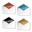 Vector e-mail stickers