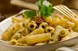 Pasta con Pesto alle Noci