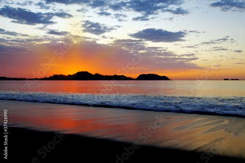 Leinwandbild Motiv Sunset in Guanacaste