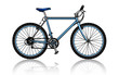 mountain bike, vector