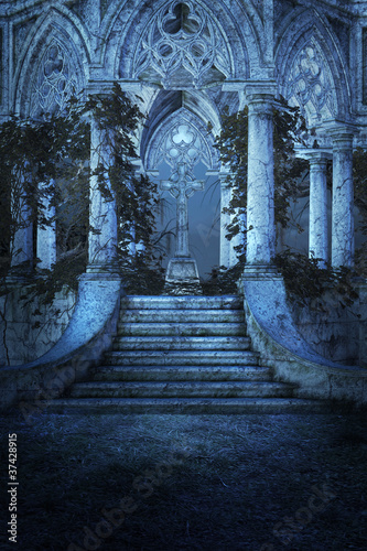 Gothic Background - 37428915