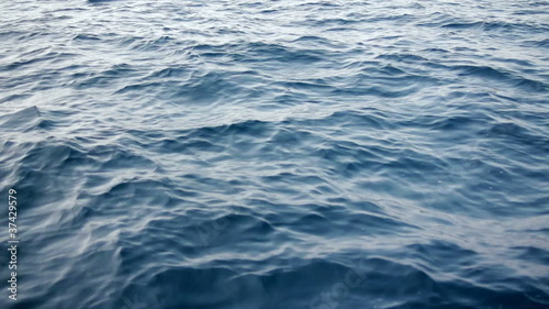 Water surface with waves