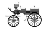 Horse Carriage, vector