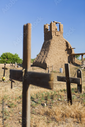 Church Ruins and Graveyard