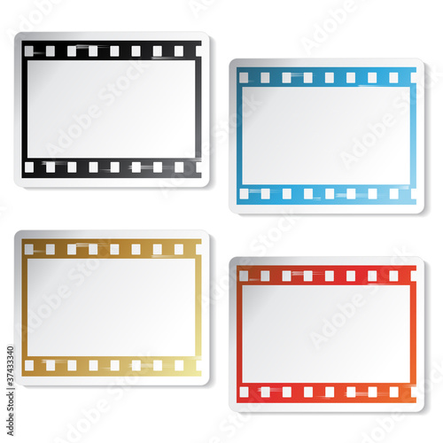 Vector film stickers